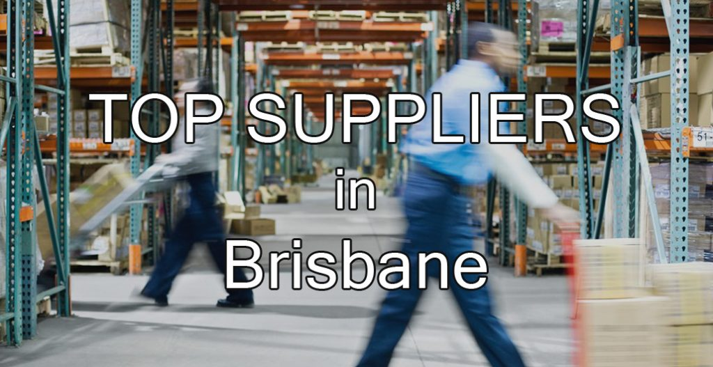 Top Suppliers in Brisbane 2017